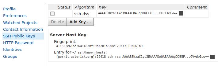gerrit-ssh-key